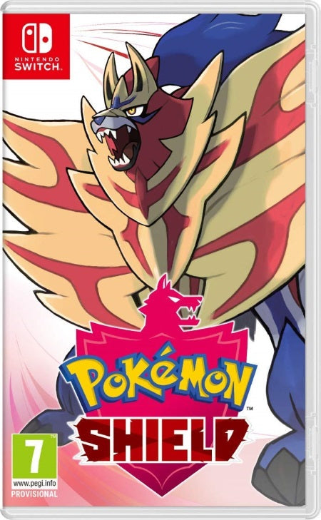 Pokemon Shield - Nintendo Switch front cover