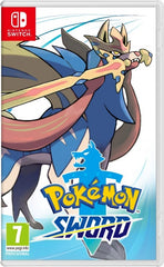 Pokemon Sword - Nintendo Switch front cover