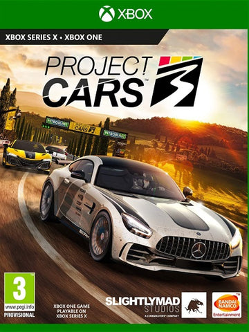 Project Cars 3 XB1 front cover