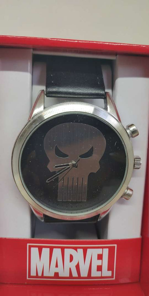 Punisher Logo Strap Watch