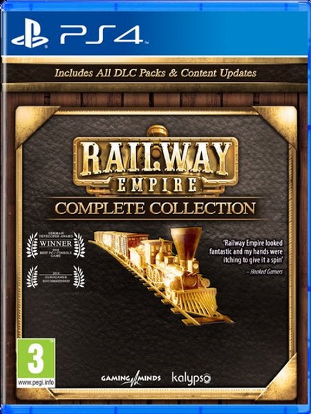 Railway Empire - Complete Collection PS4 front cover