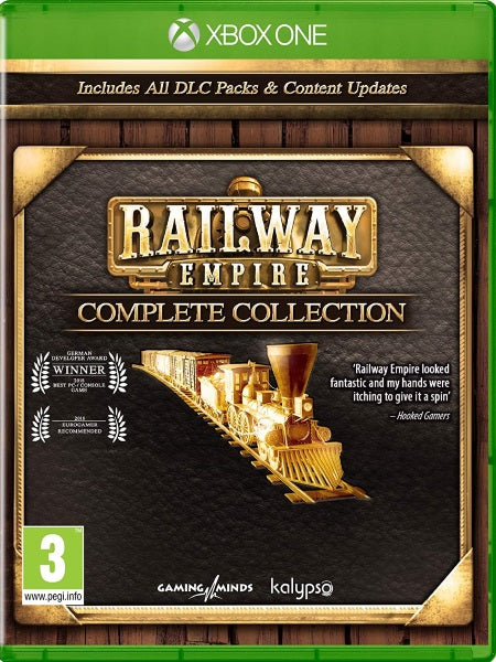 Railway Empire Complete Collection XB1 front cover