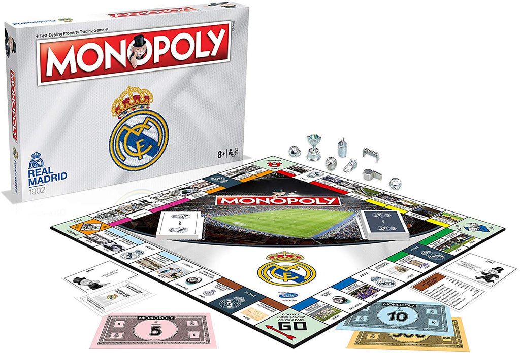 Real Madrid FC Monopoly Board Game
