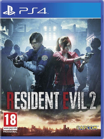 RESIDENT EVIL 2 REMAKE P4 front cover