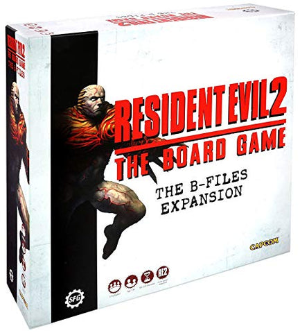 Resident Evil 2: The Board Game B-Files Expansion