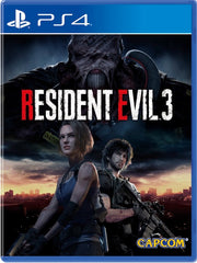 Resident Evil 3 P4 front cover