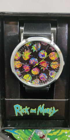 Rick and Morty Hologram Faces Watch