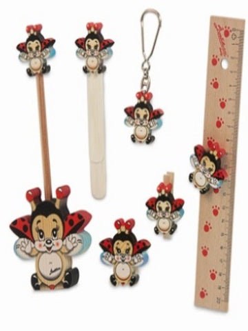 Bartolucci SCHOOL SET FLYING LADYBIRD BIG