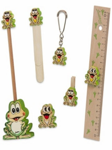 Bartolucci SCHOOL SET FROG BIG