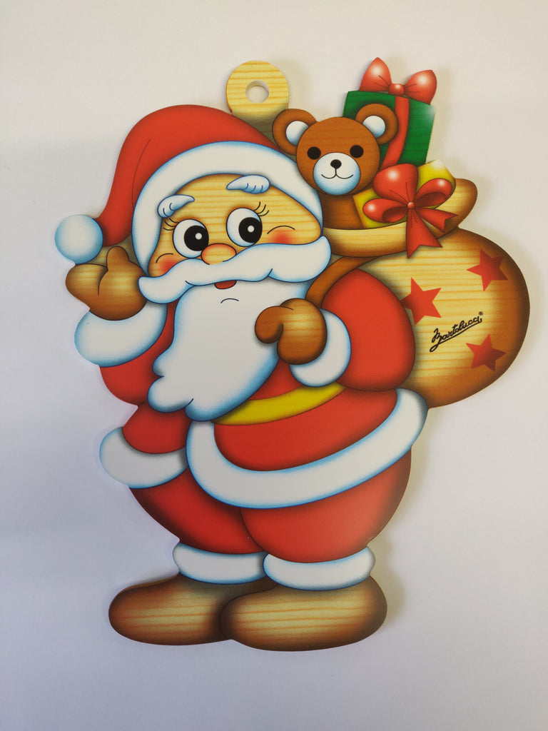 Bartolucci Christmas Decoration Santa Claus