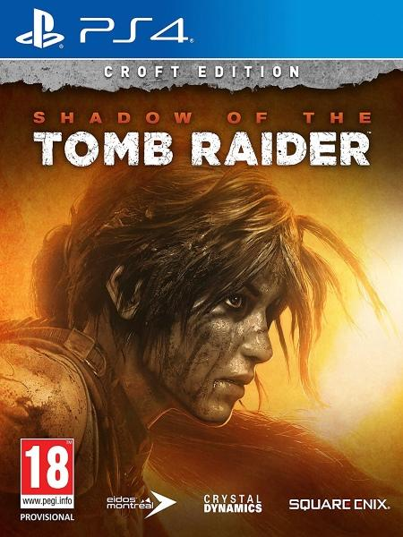 Shadow of the Tomb Raider Croft Edition P4 front cover