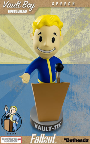 Fallout Vault Boy Bobble Head Series 2  Speech
