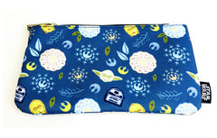 Star Wars Galaxy Cosmetic Bag  by Loungefly