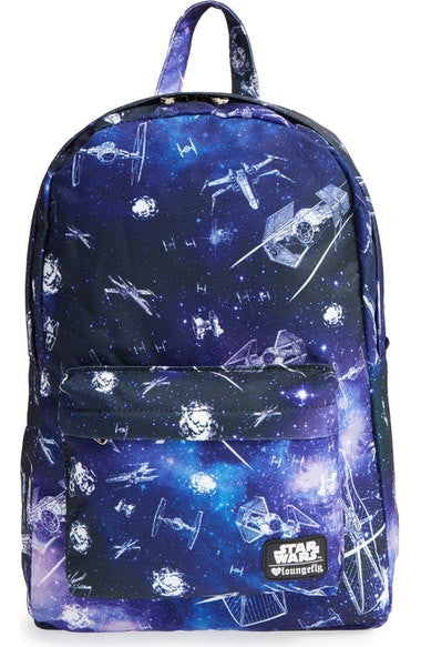 Star Wars Ship and Galaxy Backpack by Loungefly
