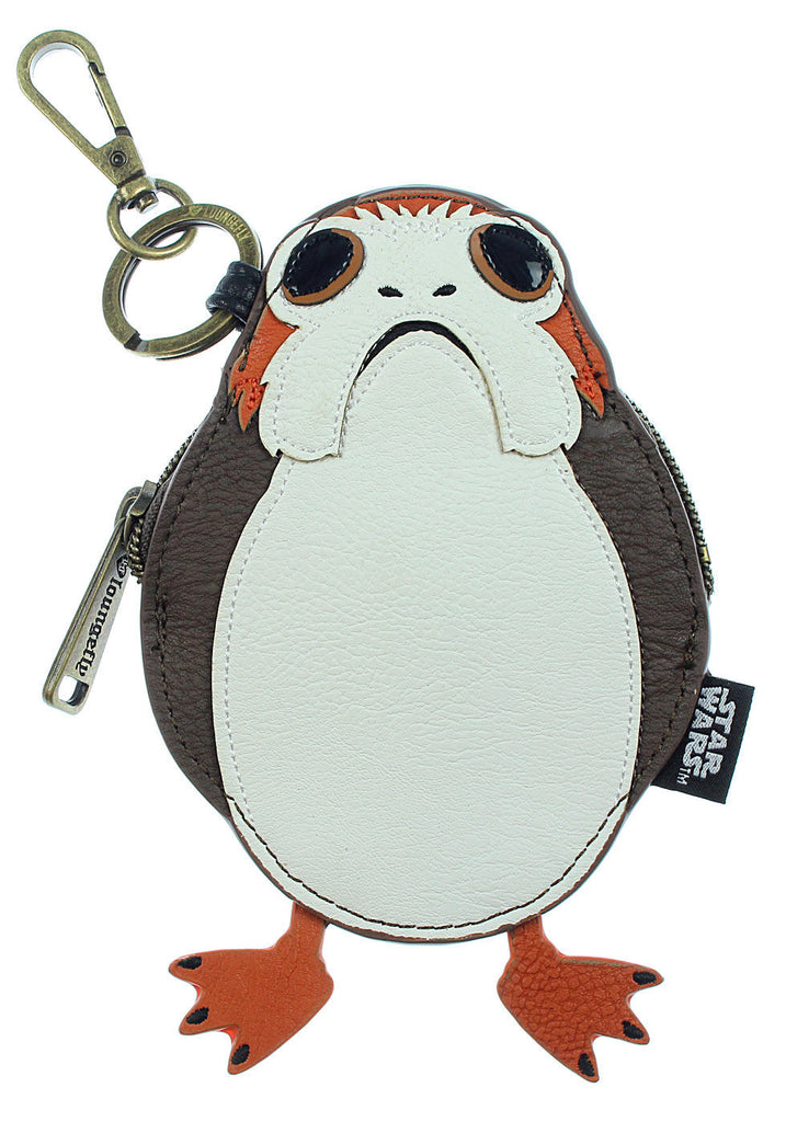 Star Wars The Last Jedi Porg Coin Bag  by Loungefly