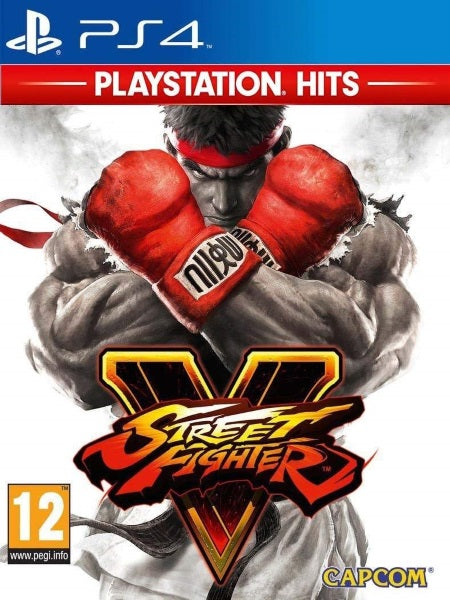 Street Fighter V PS4 Hits P4 front cover