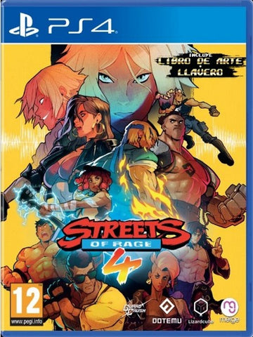 Streets Of Rage 4 P4 front cover