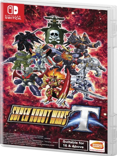 Super Robot Wars T Switch (English text) NSW front cover