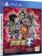Super Robot Wars T Switch (English text) P4 front cover