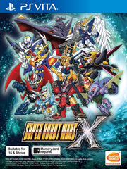 Super Robot Wars X (English Subs) PSV front cover