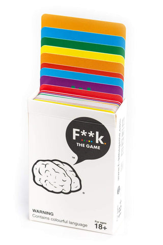 F**k. The Game - Adult Party Game front