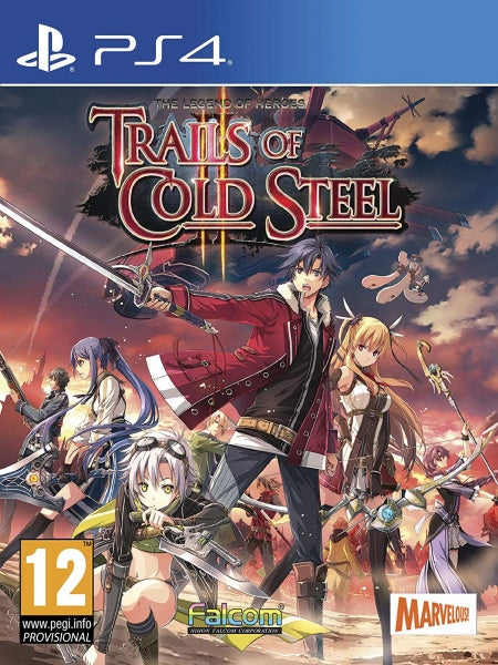 The Legend of Heroes: Trails of Cold Steel II P4 front cover