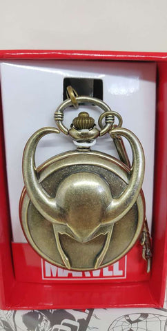 Thor Loki Pocket Watch