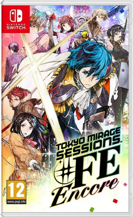 Tokyo Mirage Sessions FE Encore NSW front cover