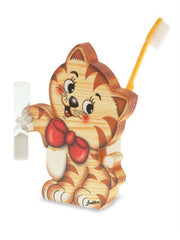 Bartolucci Toothbrushes Holder Cat