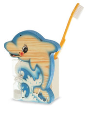 Bartolucci Toothbrushes Holder Dolphin