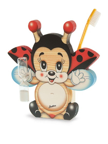 Bartolucci Toothbrushes Holder Flying Ladybird