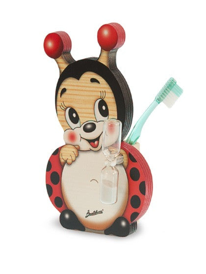 Bartolucci Toothbrushes Holder Ladybird