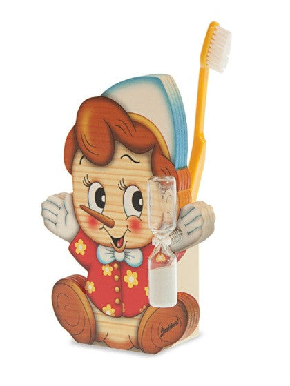 Bartolucci Toothbrushes Holder Pinocchio