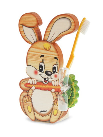 Bartolucci Toothbrushes Holder Rabbit
