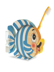 Bartolucci Toothbrushes Holder Striped Fish