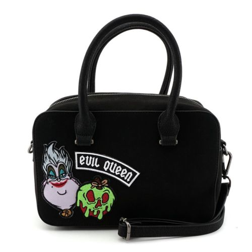 Disney Villains Patch Duffle Tote Bag  by Loungefly