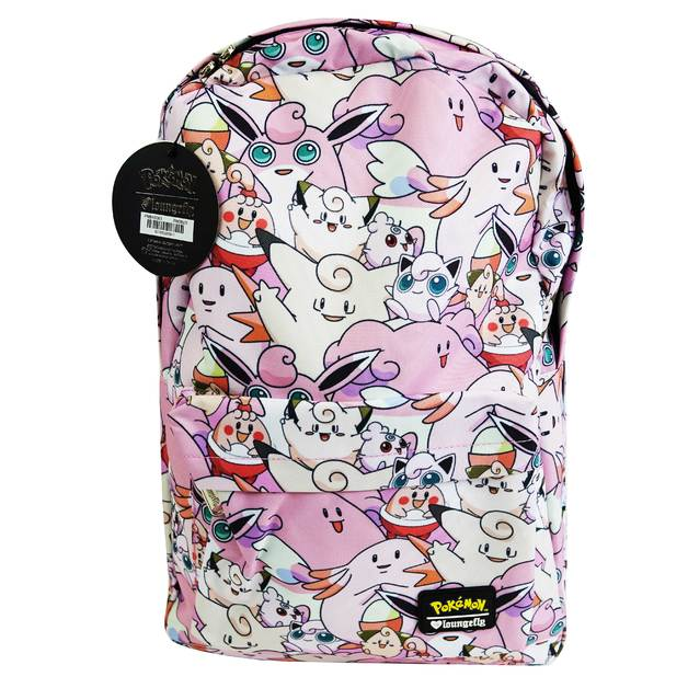 Pokemon Pink Backpack