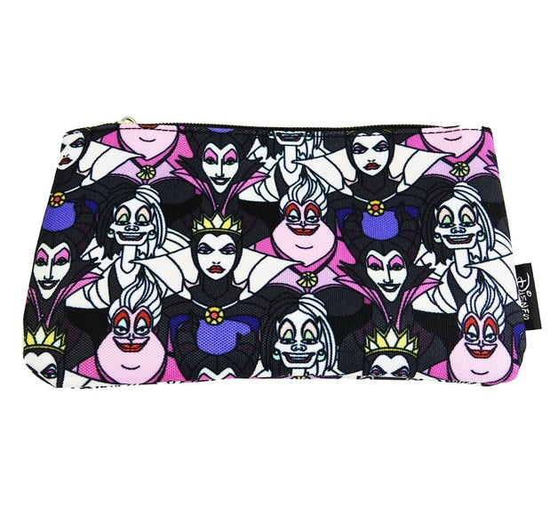Disney Villians Cosmetic Bag  by Loungefly