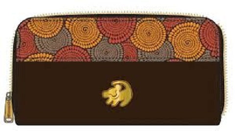 Disney Lion King Zip Around Wallet  by Loungefly
