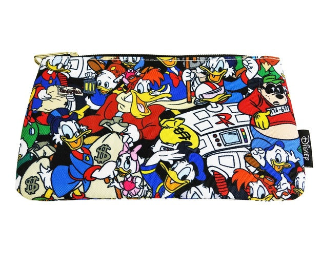 Disney Ducktales Cosmetic Bag  by Loungefly
