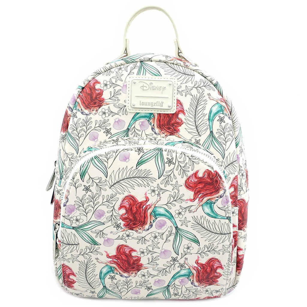 Disney Little Mermaid Mini Backpack  by Loungefly