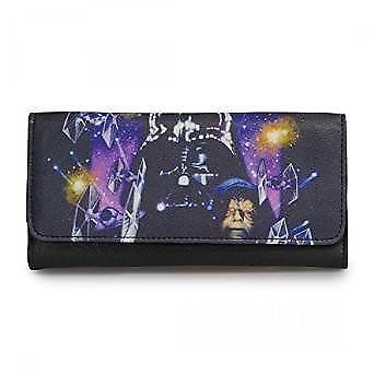 Star Wars Empire Strikes Back Space Scene Wallet  by Loungefly