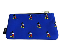 Disney Mickey Blue Cosmetic Bag  by Loungefly