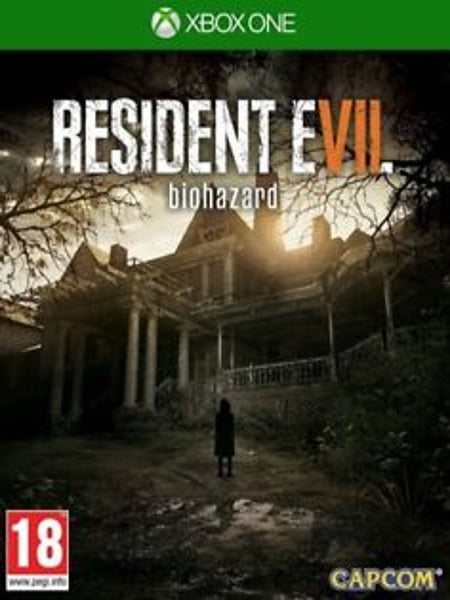 Resident Evil 7 Biohazard X1 front cover