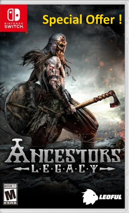 Ancestors Legacy (Multi-Language) NSw front cover