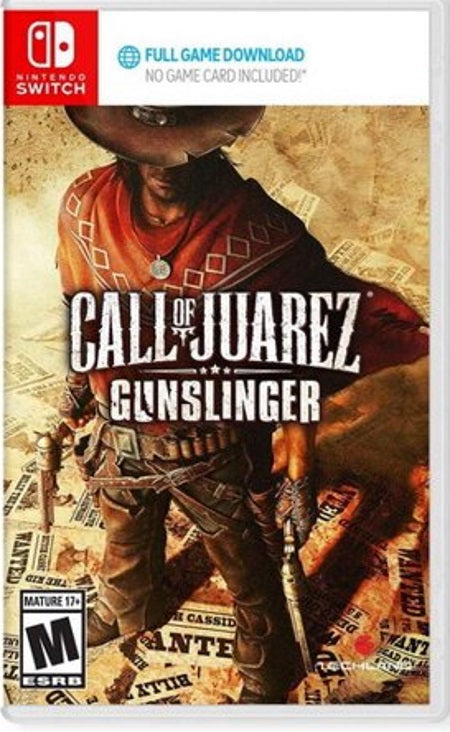Call of Juarez Gunslinger NSW front cover