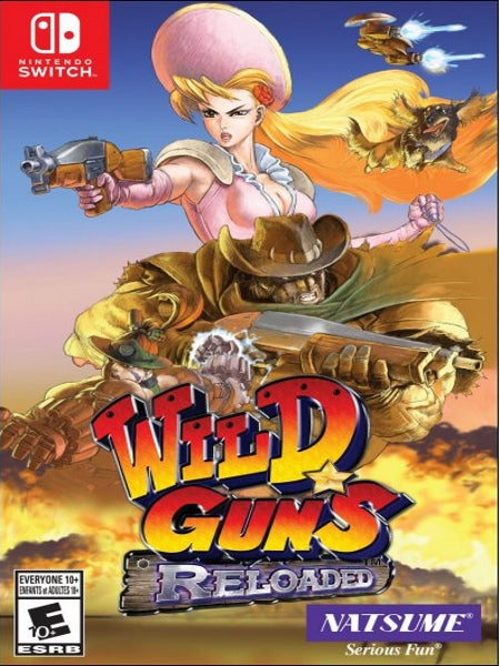 Wild Guns Reloaded NSW front cover