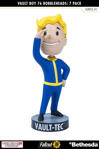 Fallout 76 Vault Boy Bobble Head Series 1 Perception