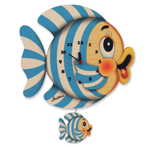 Bartolucci Clock with pendulum Fish