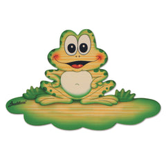Bartolucci NAME PLATE MAGNETIC MED FROG